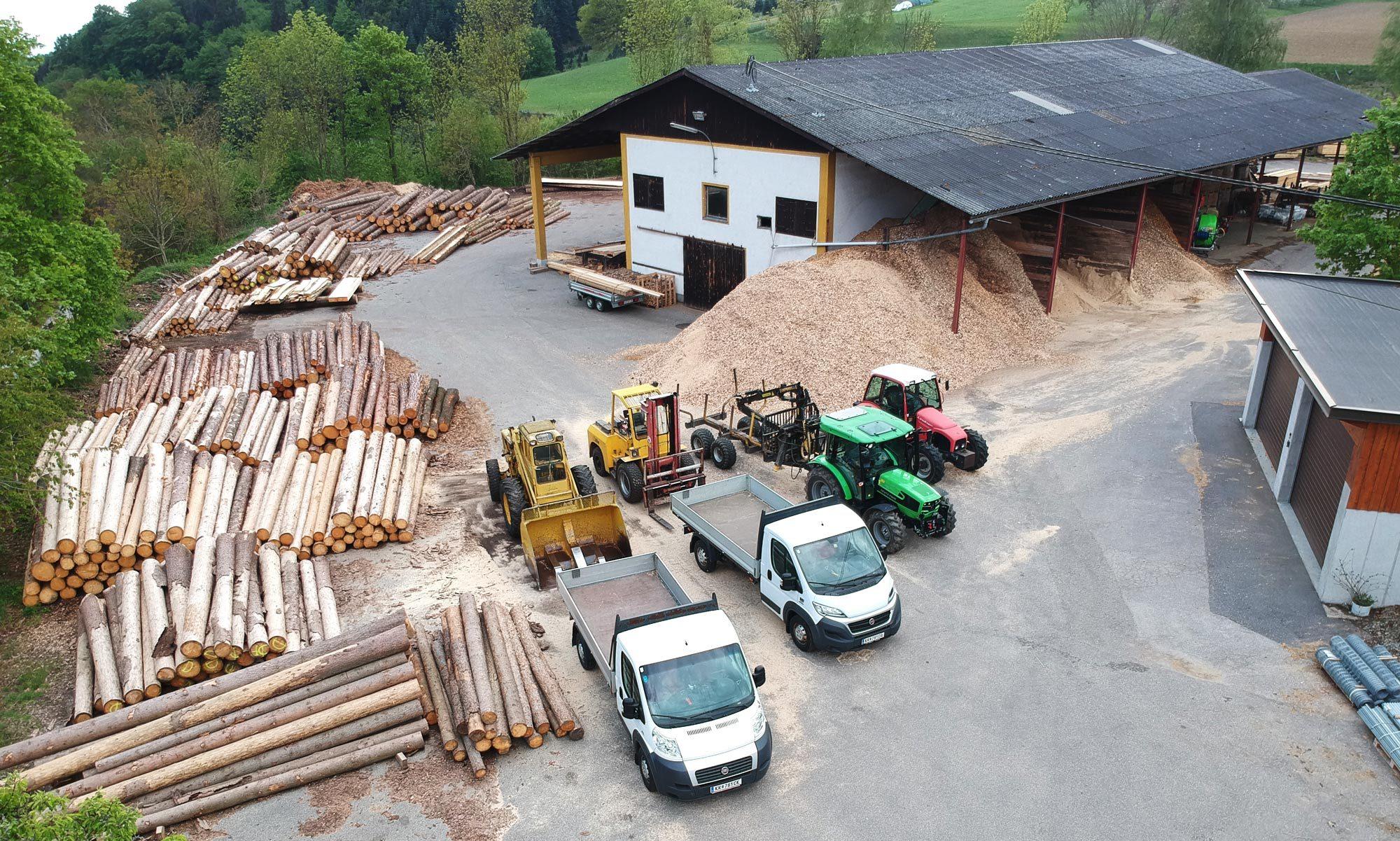 Sägewerk & Holzhandel Thalinger